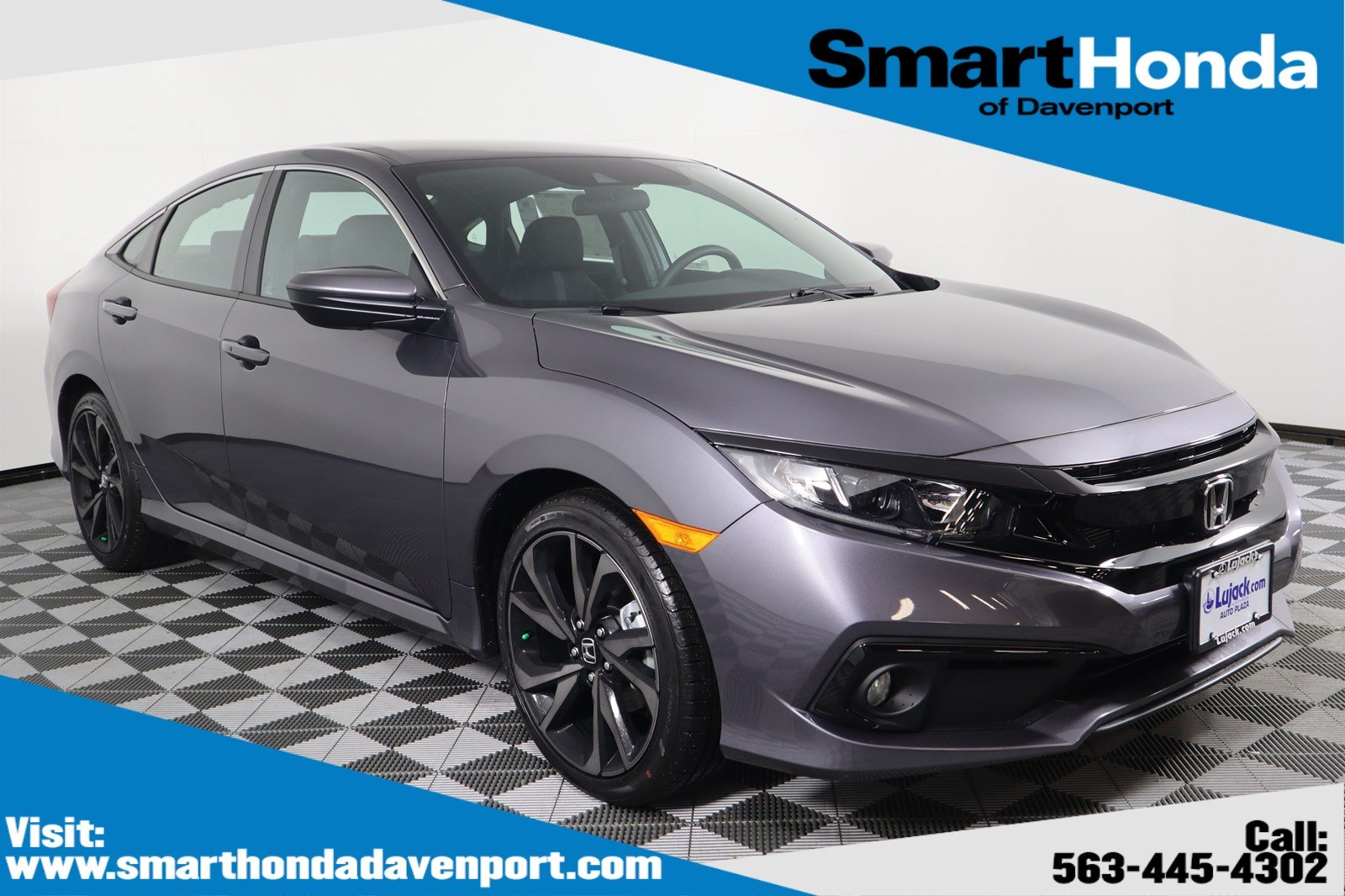 Honda Civic New >> New 2020 Honda Civic Sedan Sport Fwd