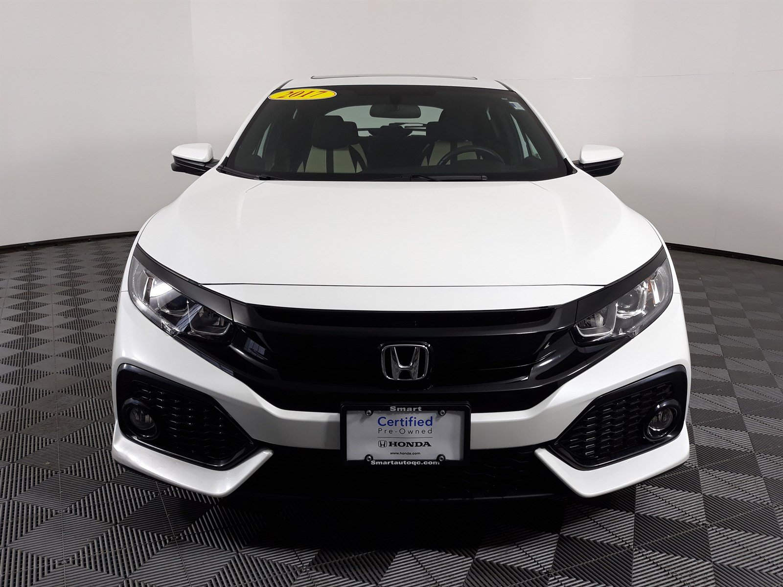 Honda Civic Certified Pre Owned >> Certified Pre Owned 2017 Honda Civic Hatchback Ex Fwd