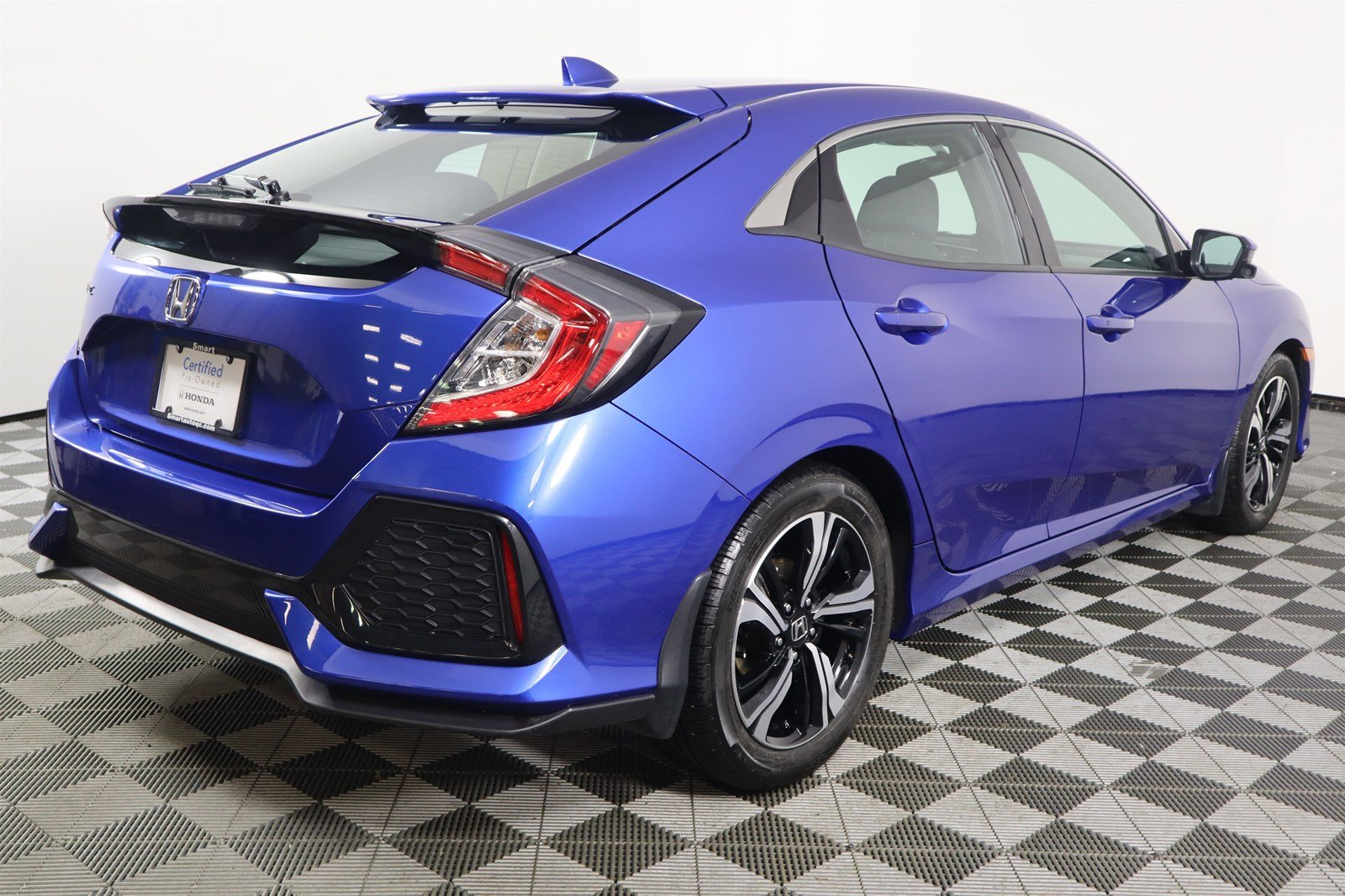 Certified Pre-Owned 2017 Honda Civic Hatchback EX