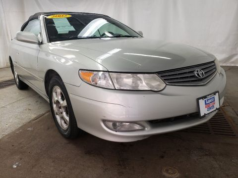 Pre-Owned 2002 Toyota Camry Solara SLE